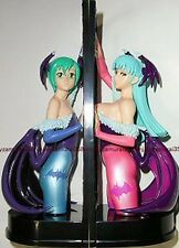 Vampire Savior Morrigan & Lilith Figure set Banpresto official anime girl 2P clr