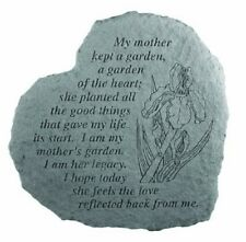 Kay Berry 08220 Heart My Mother Kept a Garden, Memorial Stepping Stone New