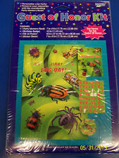 Bugs Everywhere Insect Kids Birthday Party Favor Gift Set Guest of Honor Kit *