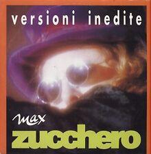 "ZUCCHERO - Versioni inedite -  CDs SINGLE ALLEGATO ""MAX"" CARDSLEEVE 4 TRACKS"