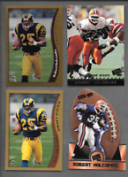 1998 Topps Chrome #108 Robert Holcombe Rookie & 3  R. Holcombe RC. Rams Cards
