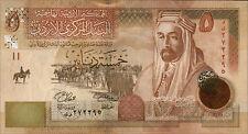 Giordania/JORDAN 5 dinaro 2008 PICK 035c (1)