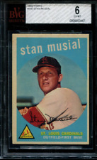 1959 Topps #150 Stan Musial - EX-MT BVG 6