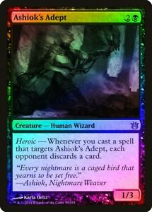 Kiora/'s Follower FOIL Born of the Gods NM Blue Green Uncommon CARD ABUGames