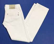Up star jeans donna W27 tg 40 41 slim chiari bianco usato boyfriend skinny T2764