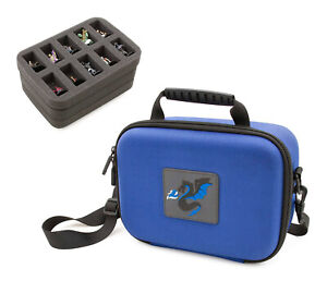 CM Mini Storage Case - 30 Slot Figurine Minature Carrying Case for D&D and RPGs