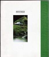 Rover Montego 1992-93 UK Market Sales Brochure Clubman LX SLX Countryman