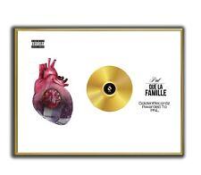 PNL Poster, QLF Poster GOLD/PLATINIUM CD, gerahmtes Poster HipHop Rap WallArt