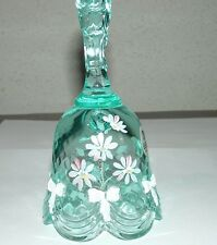 FENTON GLASS AQUA  BELL