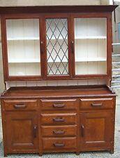 "Vintage/antique Welsh dresser farmhouse celd mamgu painted 64"" x 79.1/4 see det"