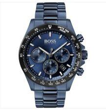 HUGO BOSS BLUE HERO SPORTS WATCH & BOX 100% GENUINE 1513758 😍😙 NEW & WARRANTY