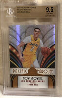 2017-18 Panini Crown Royale Pacific Marquee #40 Lonzo Ball RC Rookie BGS 9.5 💎