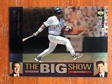 1997 Collectors Choice The Big Show Insert #39 Tony Gwynn San Diego Padres NM/MT
