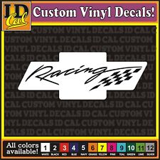 Chevy Chevrolet Bowtie Racing decal sticker vinyl car truck window 8""