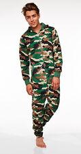 Herren Camouflage Jumpsuit Herren Einteiler Anzug Einheitsgröße neu