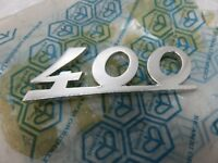 nos Genuine PIAGGIO Vespa Car Ape Classic 400 Sign Plate 150079