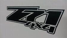 PAIR Custom Z71 4x4 stickers black chevrolet 2007-2013 decals 1500 chevy