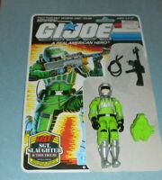 1986 GI Joe Sci Fi Laser Trooper v1 Figure w/ Full File Card Back *Complete