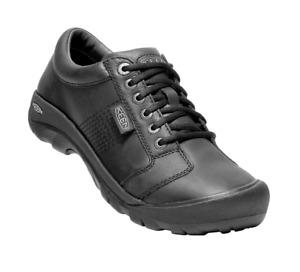 NIB Men's Keen 1002990 AUSTIN Black Lace-Up Shoes Size us 9.5-M