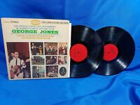 The George Jones Story LP Musicor M2S-3159 2LP Set 1968