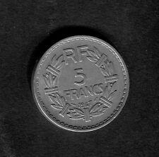 France 5 Franc Coin - 1947