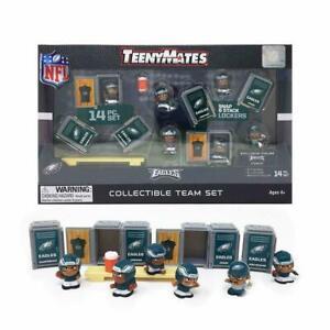 NFL TeenyMates Team Set Philadelphia Eagles 14 Piece Set, New In Box