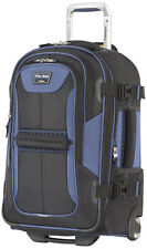 """Travelpro Luggage T-Pro Bold 2.0 22"""" Expandable Rollaboard Suitcase - Navy"""