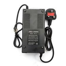 Electric E Scooter Bike Batterie Chargeur 48 V 48 V UK 240 V fiche femelle 3 Amp