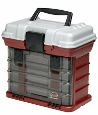 Plano 1354 4-By Rack System 3500 Size Tackle Box-Made in USA-