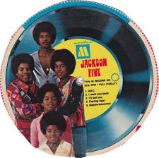 Michael Jackson 5 Five Cereal Disque 45t Cardboard Record #3 Single Picture Disc
