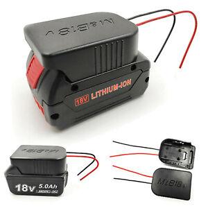 Li-Ion Akku Konverter auf DIY Kabel Ausgangs Adapter für Makita 18V Bosch 18V #