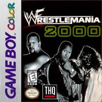WWF Wrestlemania 2000 - Nintendo Game Boy Color GBC