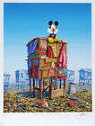 Jeff Gillette - Mickey's Cartoon Shack - Hand Embellished Print 3/5 - Dr. Seuss.
