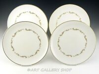 """Royal Doulton England H4945 FRENCH PROVINCIAL 10-3/8"""" DINNER PLATES Set of 4"""