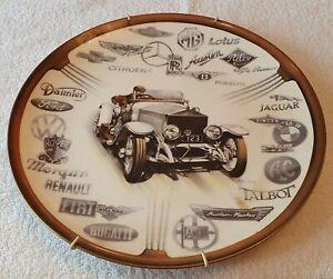 Coalport Motoring Heritage Plate