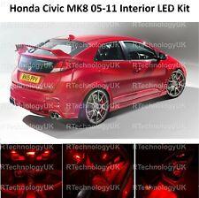 Mugen Honda Civic Type R Ep3 2000-2005 ambiente reposapiés Led Rojo Kit De Iluminación