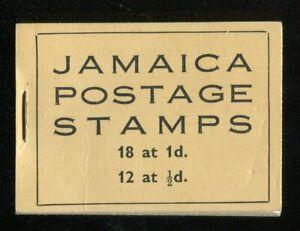 Jamaica KGVI 1947 booklet SG.SB10a MNH stapled left