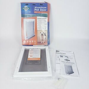 "Pet Safe Freedom Aluminum Pet Door for Medium Dogs 1- 40 Pounds 8 1/4""-12 1/4"""