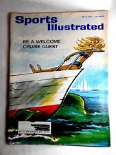 VINTAGE Sports Illustrated May 13 1963 Be a Welcome Cruise Guest