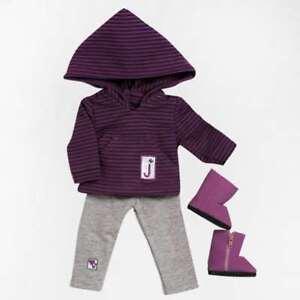 Girl Scout Junior Hooded Shirt/Leggings Set by Adora