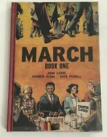 John Lewis, Andrew Aydin, Nate Powell MARCH BOOK 1 Hard Cover 1st Edition