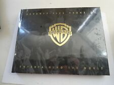 """75 YEARS of Warner Bros """"Entertaining the World"""" - Hardcover Numbered 1578/1750"""