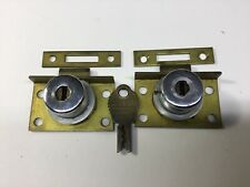 New Listing2 Slot Machine Back Door Locks & 2 Other Coin Op Locks