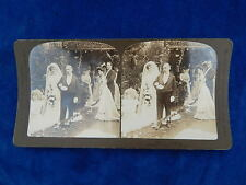 STEREOVIEW - H.C. WHITE CO - 5513 THE BRIDE / MARIAGE - TOP !