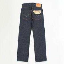 Levis 501 1947 BIG E raw rigid selvedge denim jeans made in USA