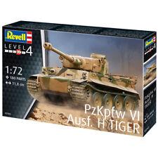 Revell PzKpfw VI Ausf. H tanque Tiger (nivel 4) (Escala 1:72) 03262 Nuevo