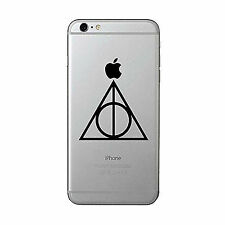 HARRY POTTER DEATHLY HALLOWS SYMBOL STICKERS PACK OF 2 PHONE -LAPTOP  -TABLET