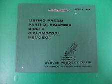 Peugeot cycles cicli ciclomotori listino prezzi parti di ricambio catalogo