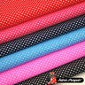 POLKA DOT FABRIC 2mm Spots Spotty Dotty Polycotton PINK RED BLUE Small