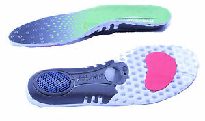 Bodytec HydroTech Sports Orthotic running Insoles Dual layer Impact absorber